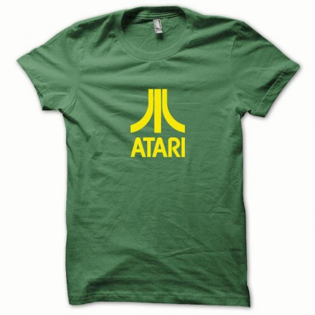 Tee shirt Atari jaune/vert bouteille