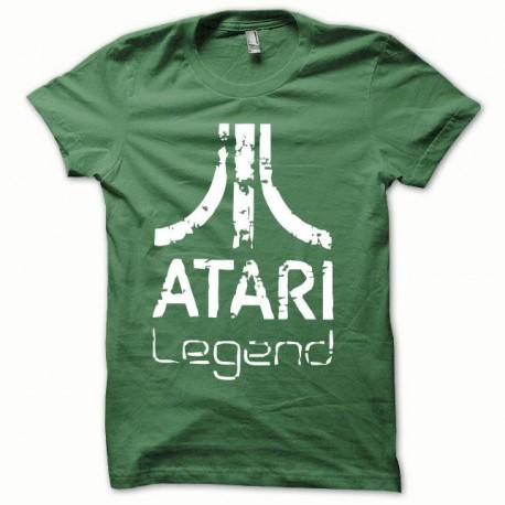 Tee shirt Atari Legend blanc/vert bouteille