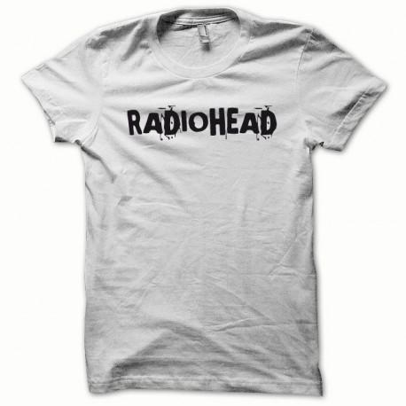 Tee shirt Radiohead noir/blanc