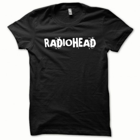Tee shirt Radiohead blanc/noir