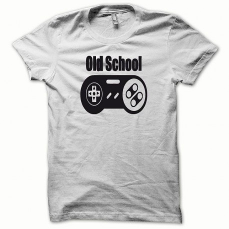 Tee shirt Paddle Old School noir/blanc