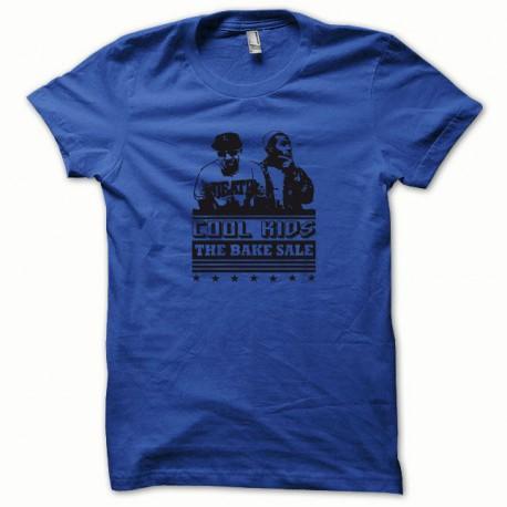 Tee shirt Cool Kids noir/bleu royal