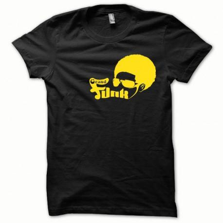 Tee shirt Funk jaune/noir