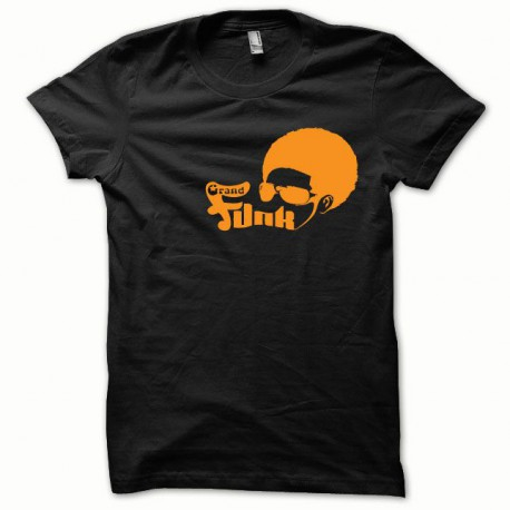 Tee shirt Funk orange/noir