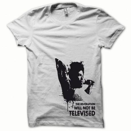 Tee shirt Afro Revolution noir/blanc