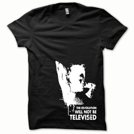 Tee shirt Afro Revolution blanc/noir